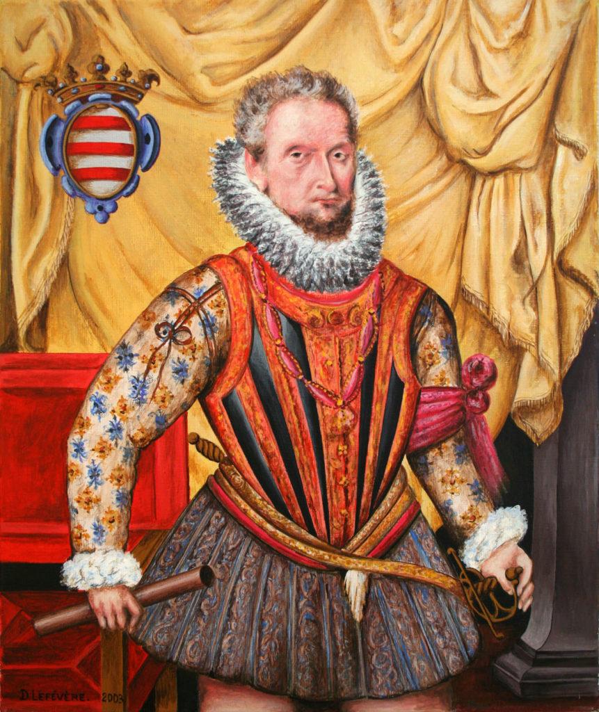 Portrait du duc Charles de Croÿ